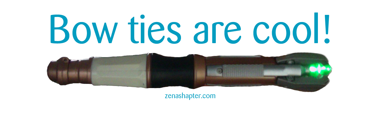 Zena Shapter sonic screwdriver