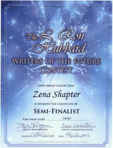 Writers of the Future Win!