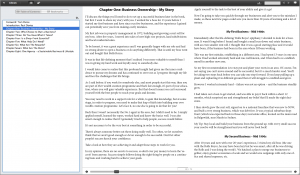 Shapter Business EPUB internals